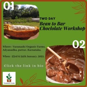 Bean to Bar Chocolate making Workshop