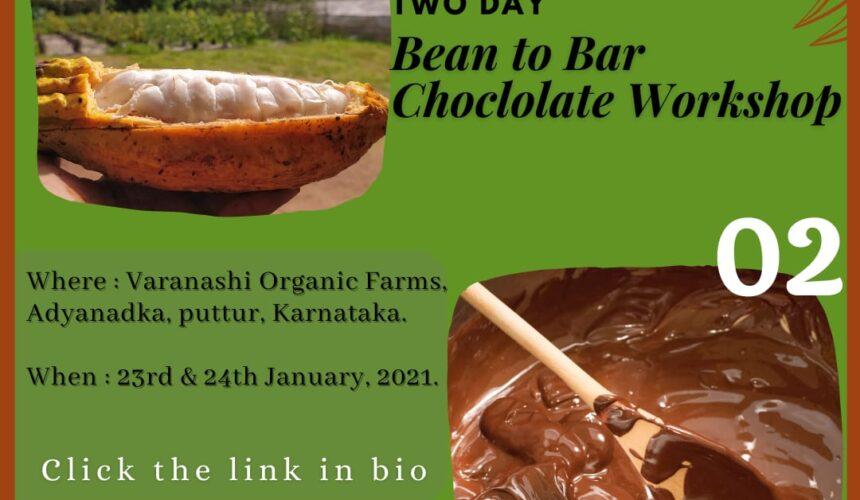 Bean to Bar Chocolate making Workshop